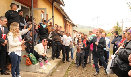 Informal housing workshop in Valea Corbului